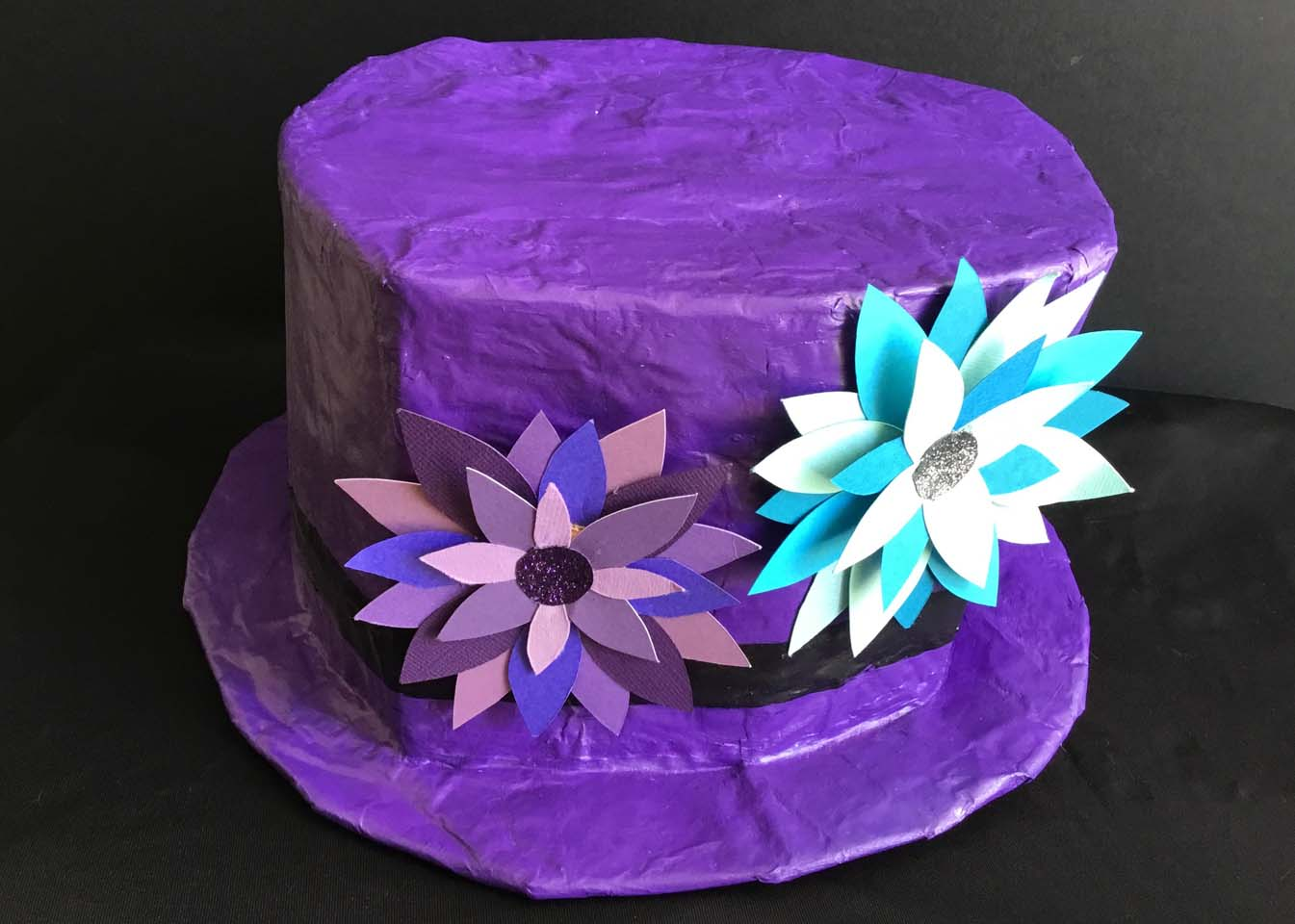 paper mache hat